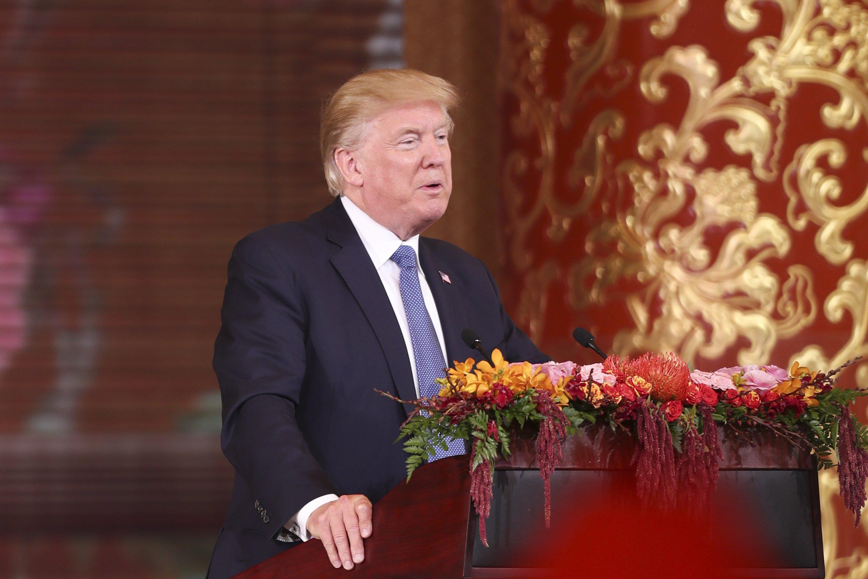Трамп заявляет, что СиЦзиньпин желает ужесточить санкции против Пхеньяна