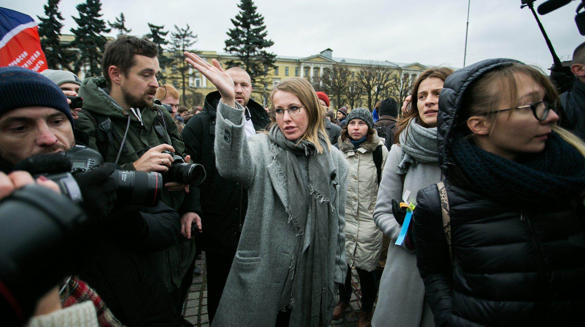 Собчак поведала  оначале прокурорской проверки ее  заявлений  поКрыму