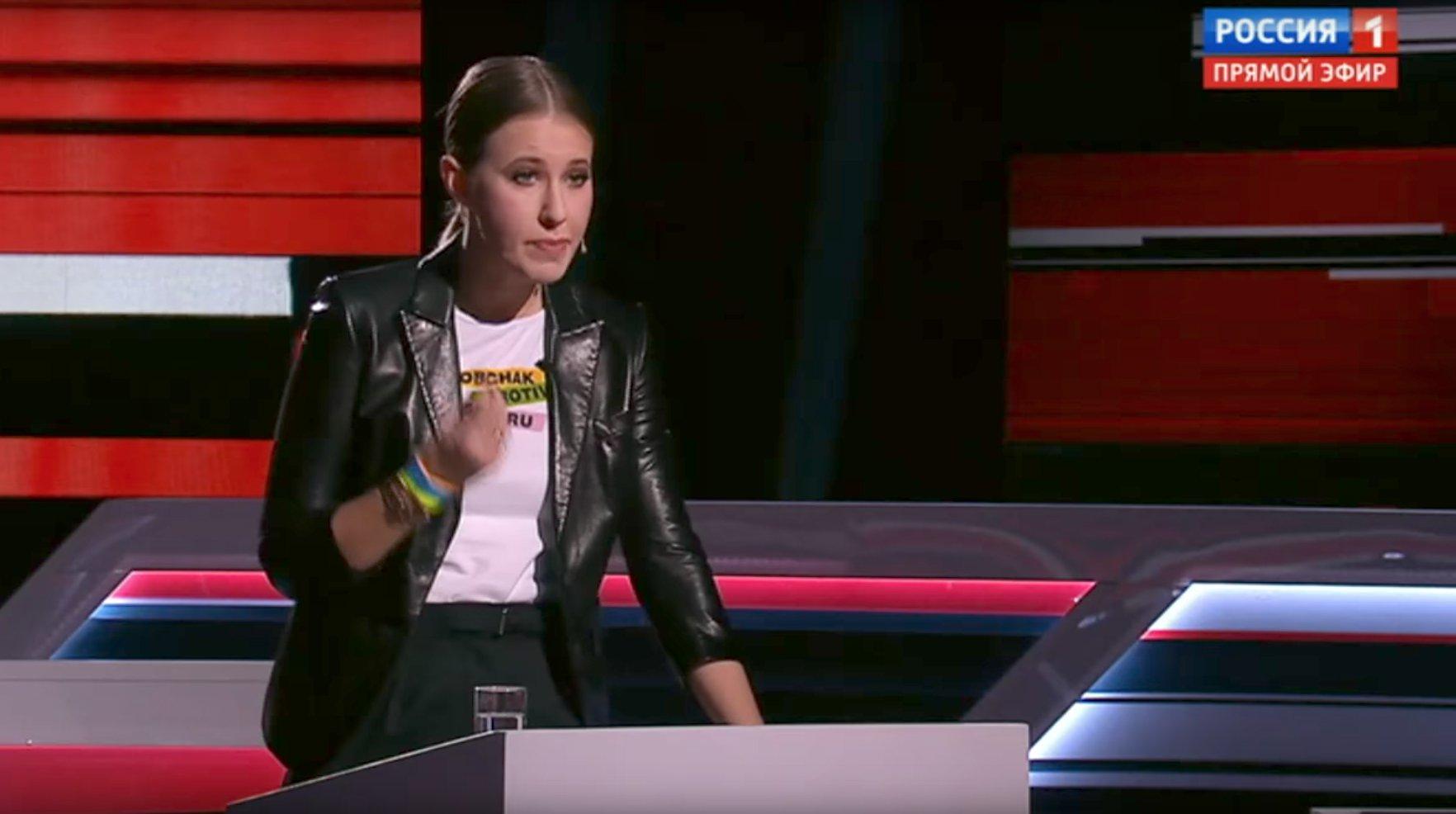 Собчак сообщила, что Генеральная прокуратура проверяет ее слова поКрыму