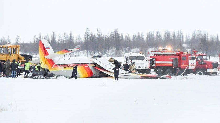 Самолёт Ан-2 разбился ваэропорту Нарьян-Мара