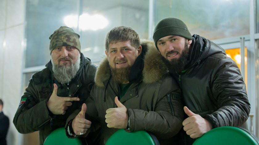 Рамзан Кадыров удалил изсвоих друзей «ВКонтакте» Делимханова