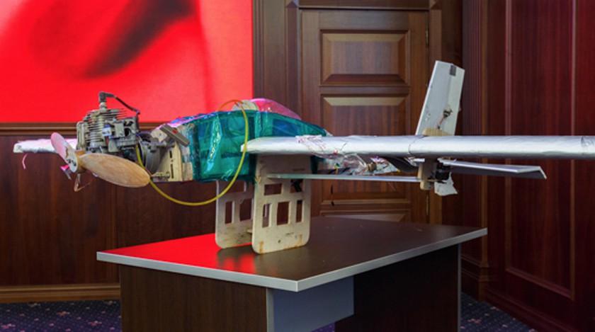 Ватаковавших русские  базы вСирии дронах найден  «украинский след»