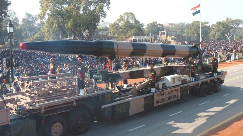 Индия проверила высокоточную ракету малой дальности