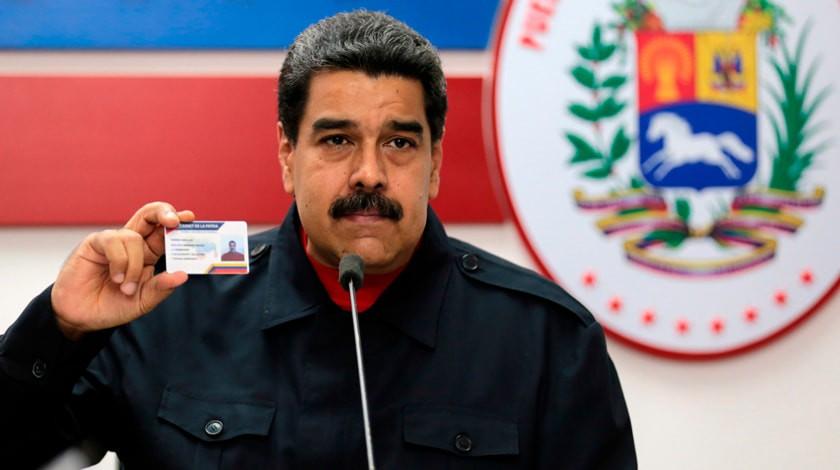 Мадуро подписал проект соглашения соппозицией Венесуэлы