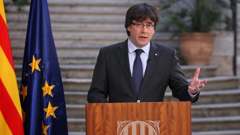 Столкновения сполицией вБарселоне