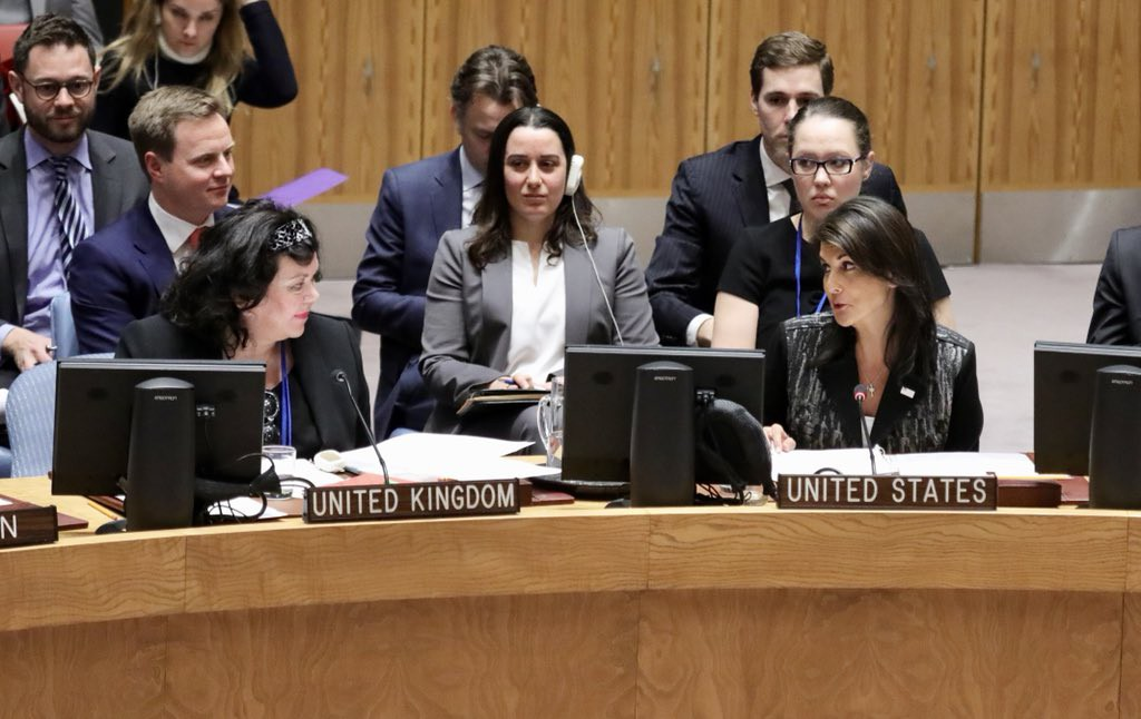 Великобритания наСовбезе ООН сравнила Российскую Федерацию спрофессором Мориарти
