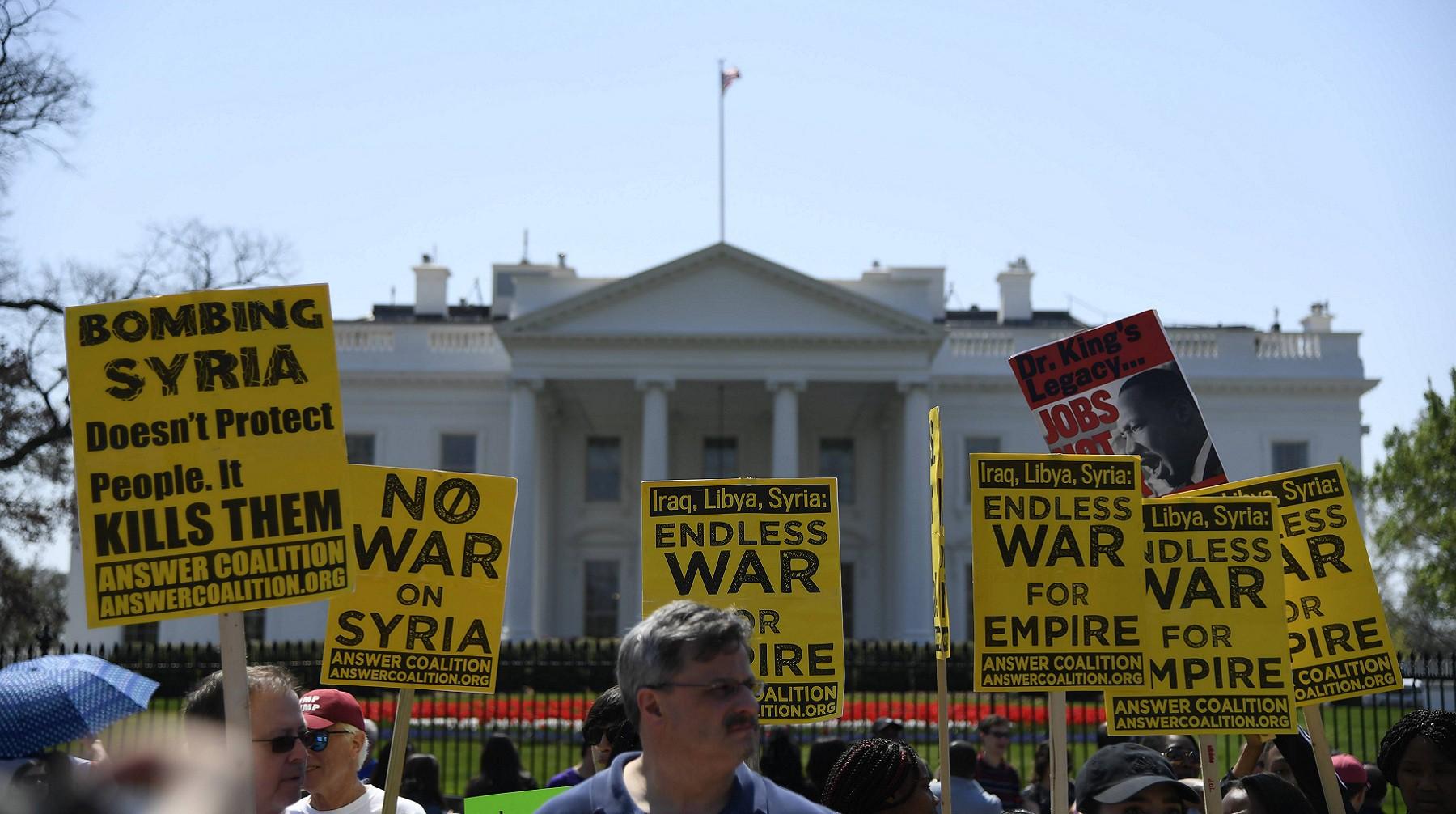 США готовят расширенный санкционный пакет для Российской Федерации  — Сирийские последствия