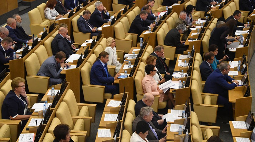 Законопроект об ответных санкциях России будет рассмотрен 15 мая