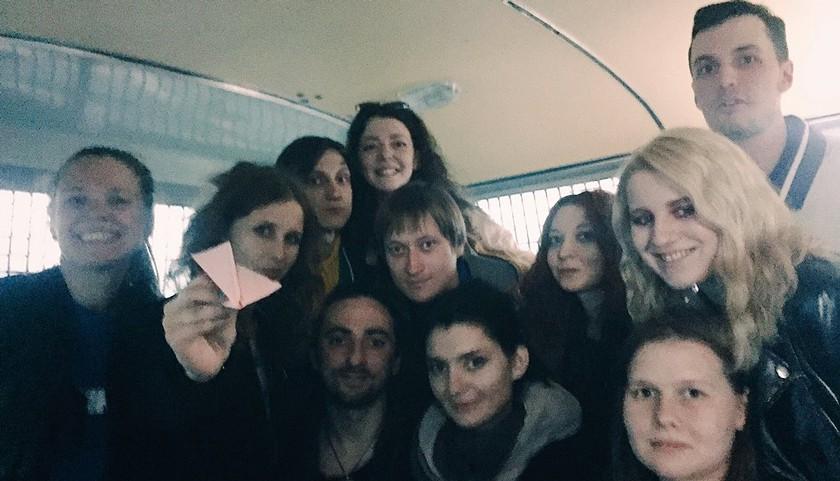 Наакции взащиту Telegram уздания ФСБ задержали Алехину иЭнтео