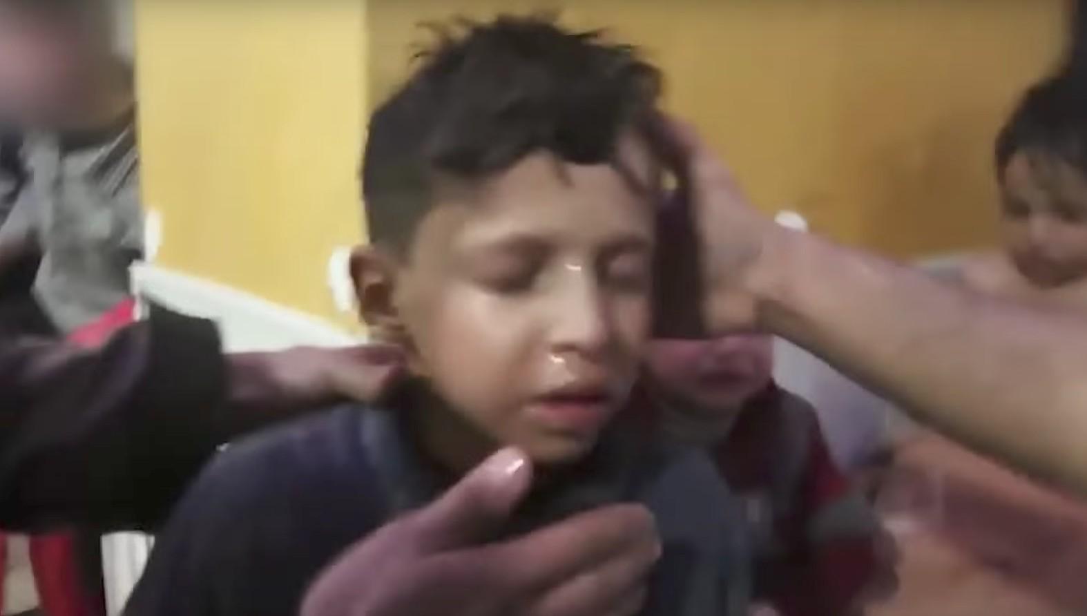 «Белые каски» продакшн: найден ребенок, снимавшийся винсценировке химатаки вДуме
