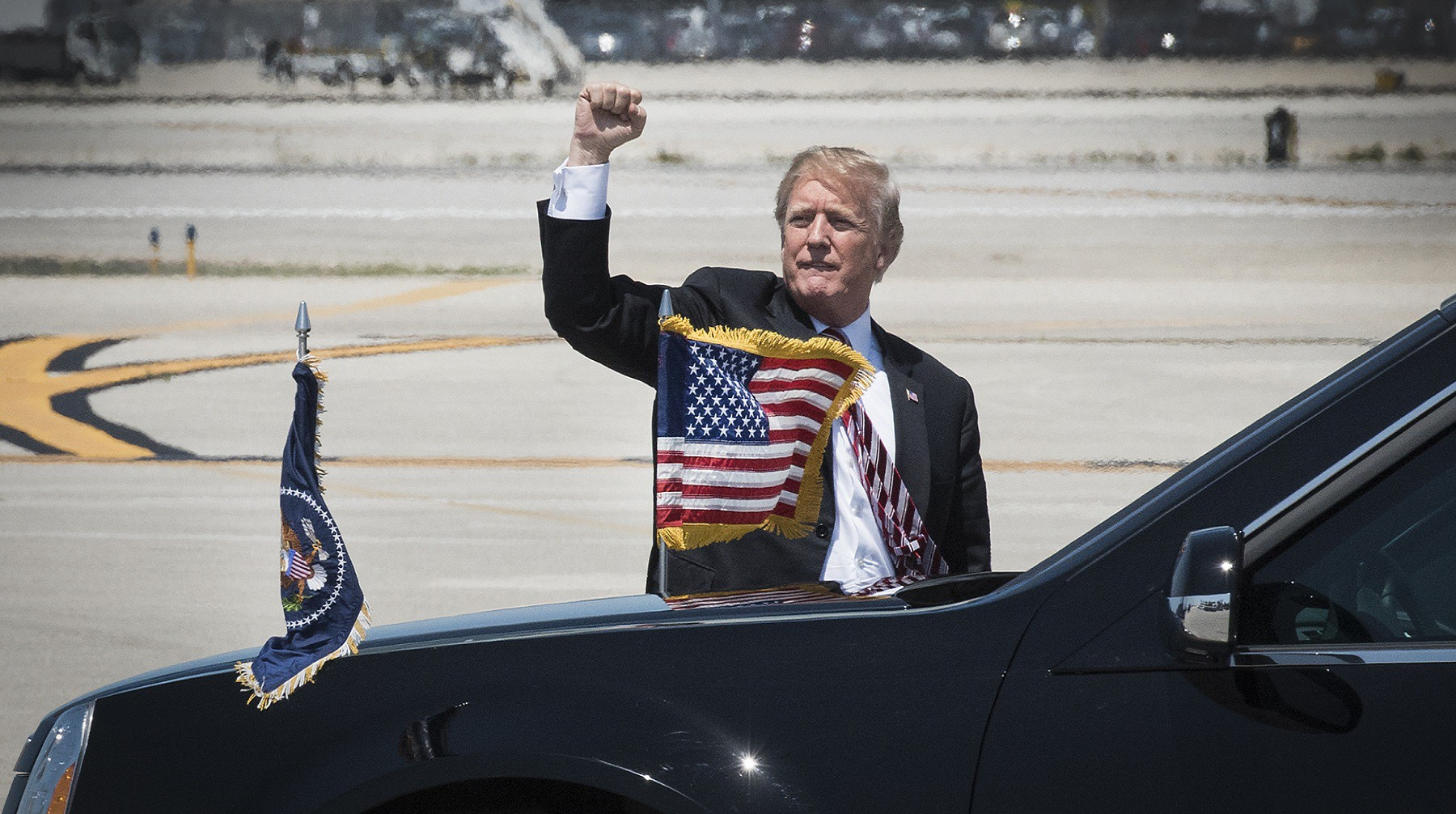 Трамп считает, что ситуация сКНДР далека отразрешения