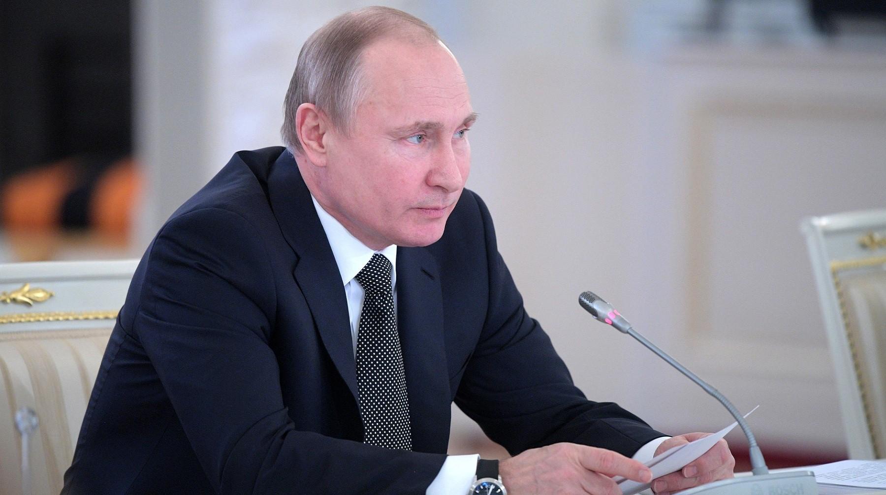 Путин поприветствовал участников акции «Спасибо заверность, потомки!»
