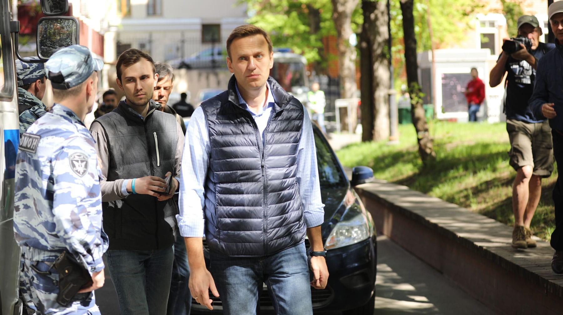 Суд отложил рассмотрение дела против Навального о несоблюдении проведения митинга
