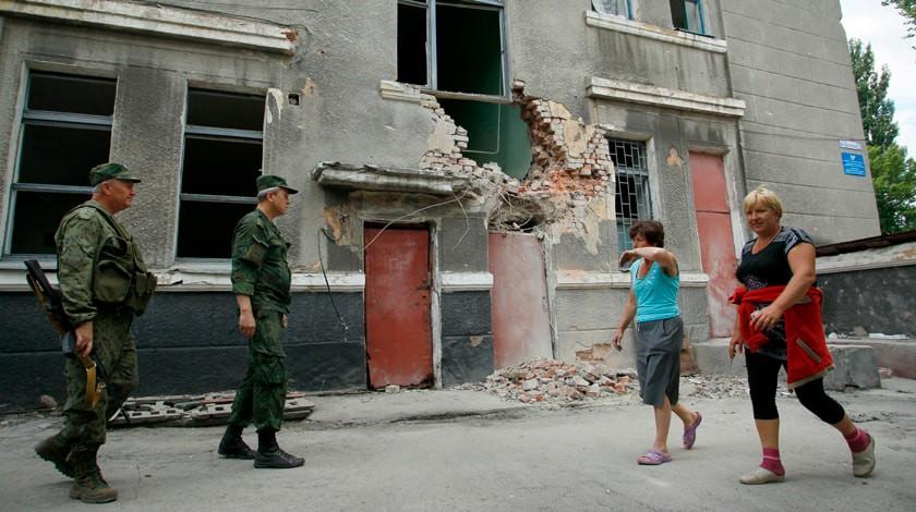 Украинские силовики захватили вплен 3-х ополченцев близ Горловки