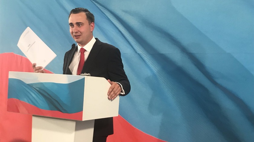 ВОВД «Тверском» задержали секретаря  Навального
