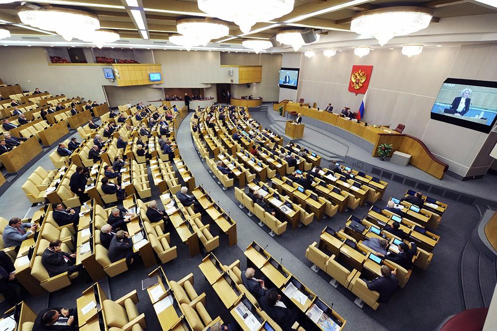 Володин поведал оработе над проектом онаказании за выполнение санкций