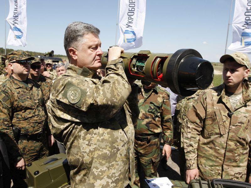 Пуски ракетных комплексов Javelin впервый раз состоялись вУкраинском государстве - Порошенко