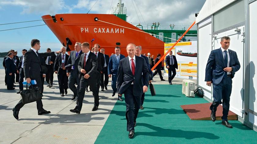 Сахалинские депутаты попросили у Путина скорее построить мост на материк