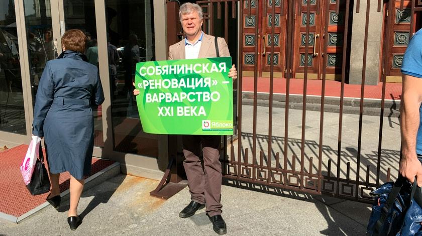 Митрохин отказался подчиниться «Яблоку», отстранившему его отвыборов главы города столицы