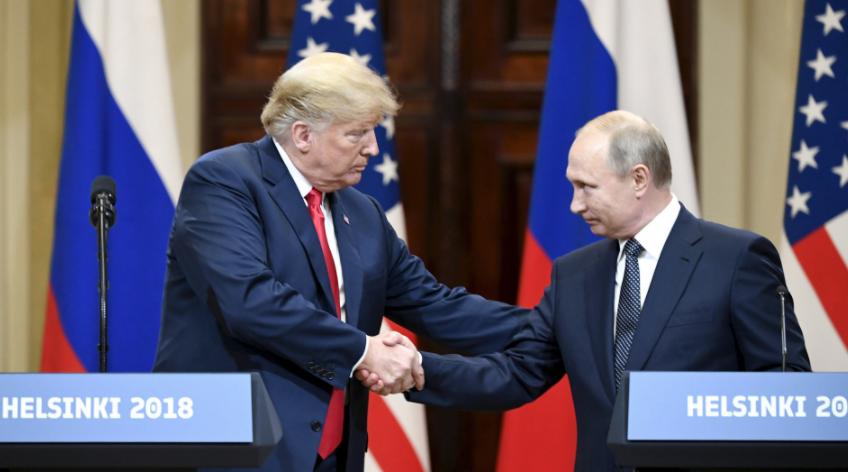«Готовы увидеться сТрампом вМоскве»: Путин ожидает главу США вгости
