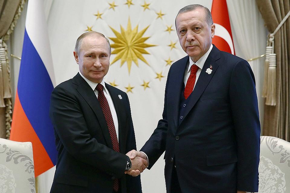 Руководитель МИД Турции проинформировал, что Путин иЭрдоган вскором времени встретятся