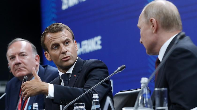 Обговаривать безопасность Европы следует при участии Российской Федерации — Макрон