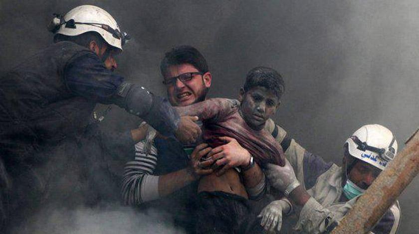 МинобороныРФ: Провокация с употреблением химоружия случится вСирии уже сегодня