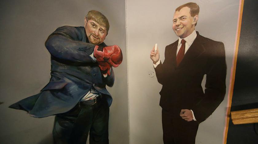 Кадыров пригласил Медведева на200-летие Грозного