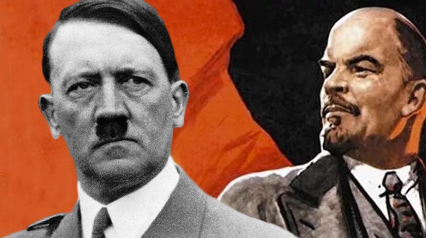 Ленин иГитлер конкурируют задолжность главы города  вПеру