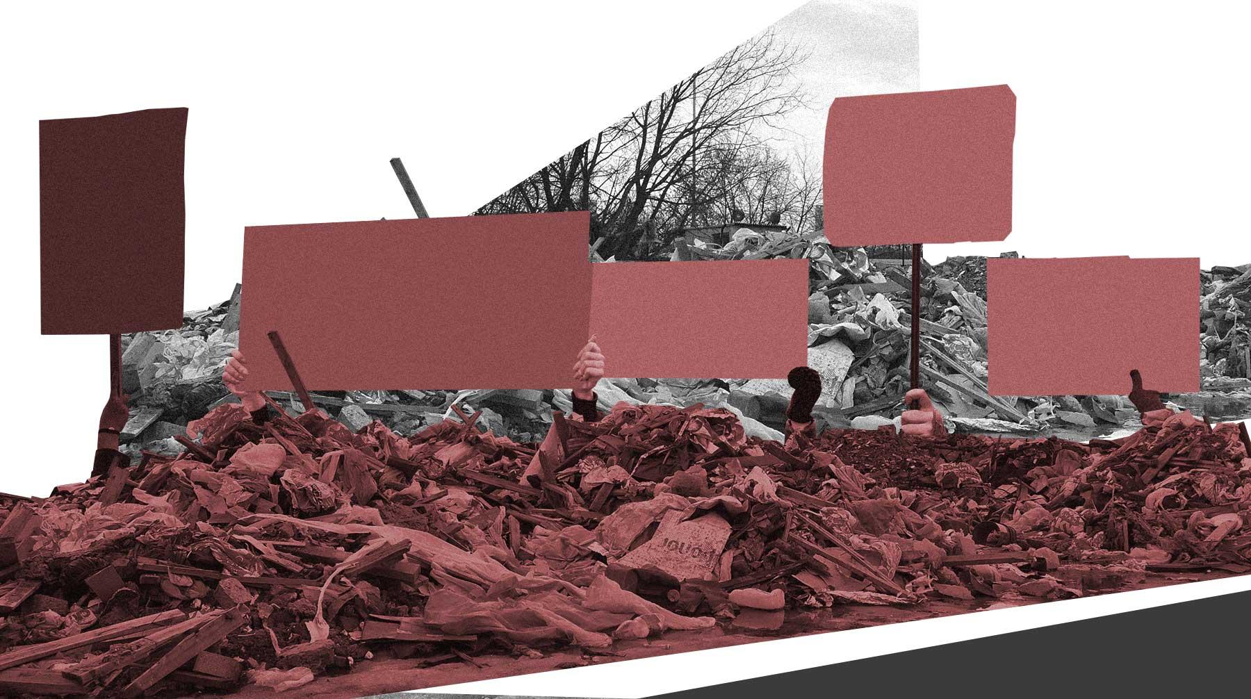Запланированный на 3 февраля всероссийский протест пройдет под экологическими лозунгами против мусорной реформы
