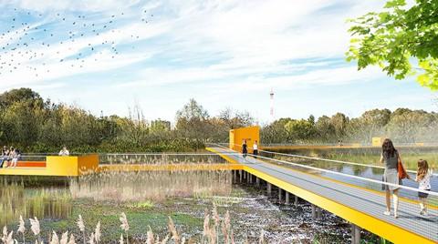 Проектное решение парка Капотня