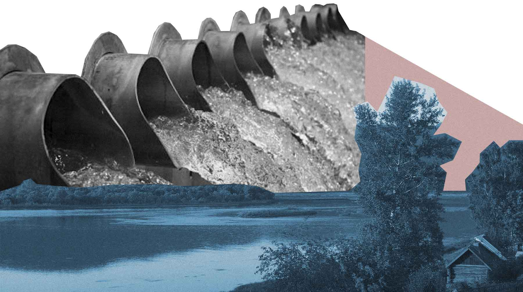 Экологические проблемы реки енисей