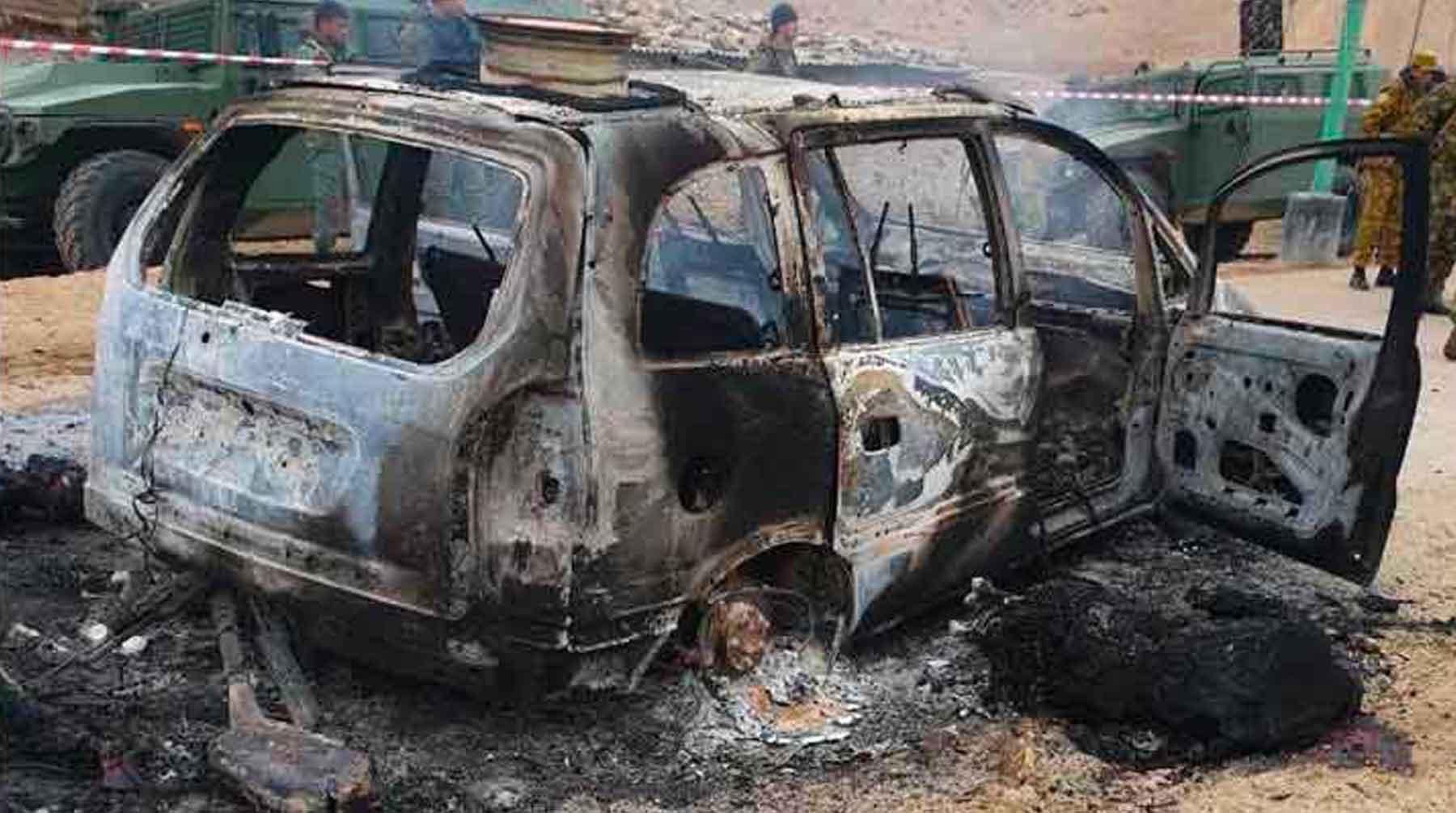 Нападавшие проникли на границу со стороны Афганистана и планировали устроить теракты undefined
