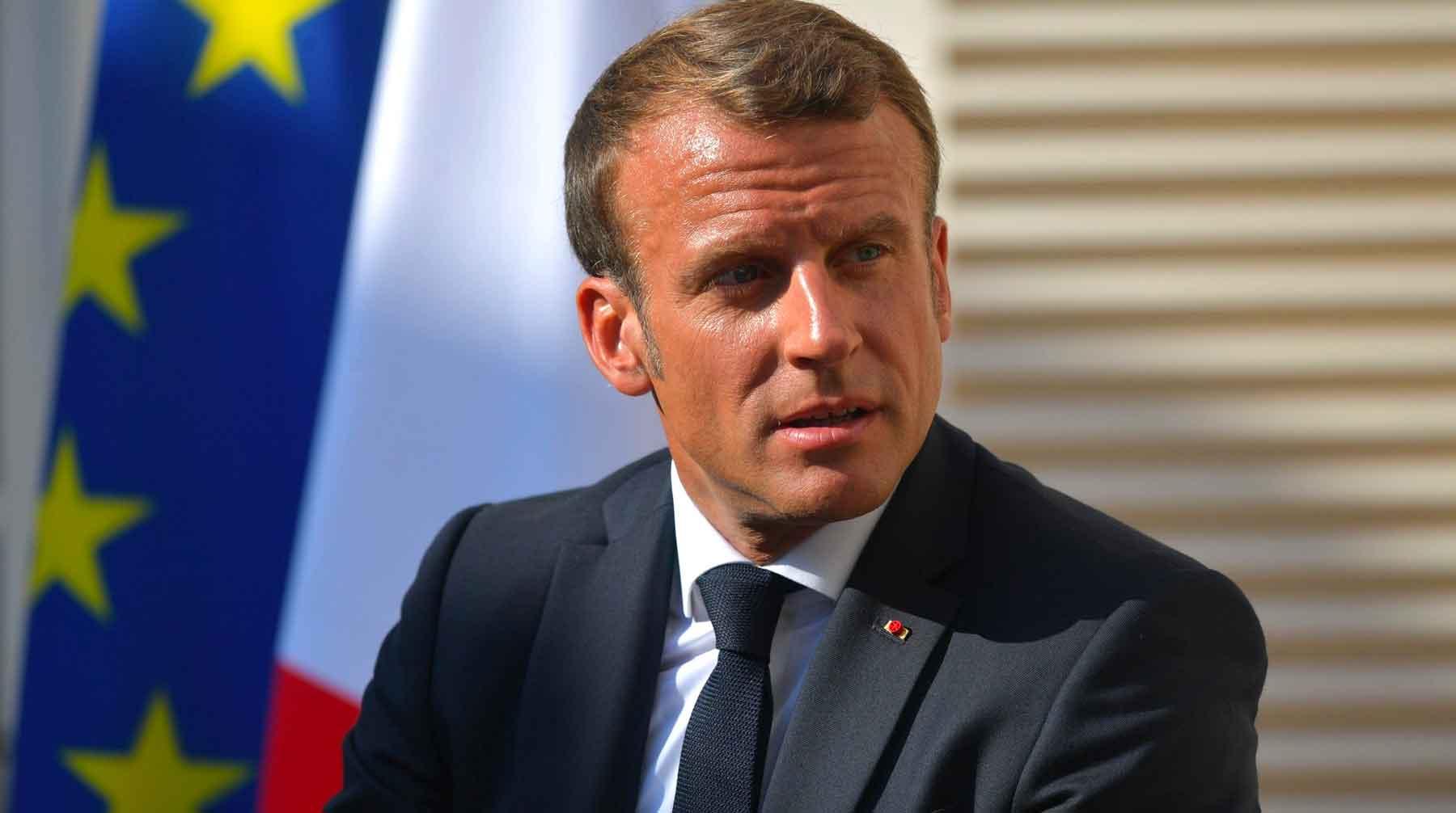 Президент Франции призвал защитить европейскую историю от фальсификаций Фото: © GLOBAL LOOK press / Kremlin Pool