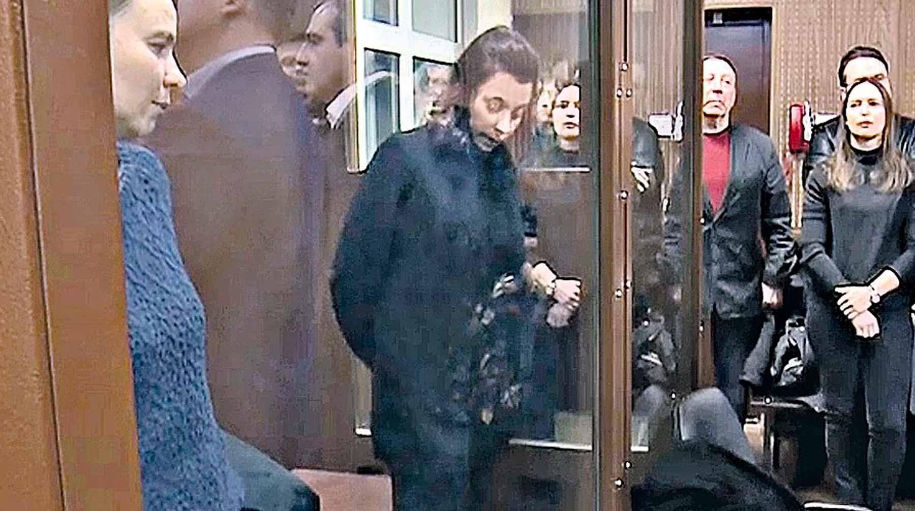 Александра Лисицыны в суде