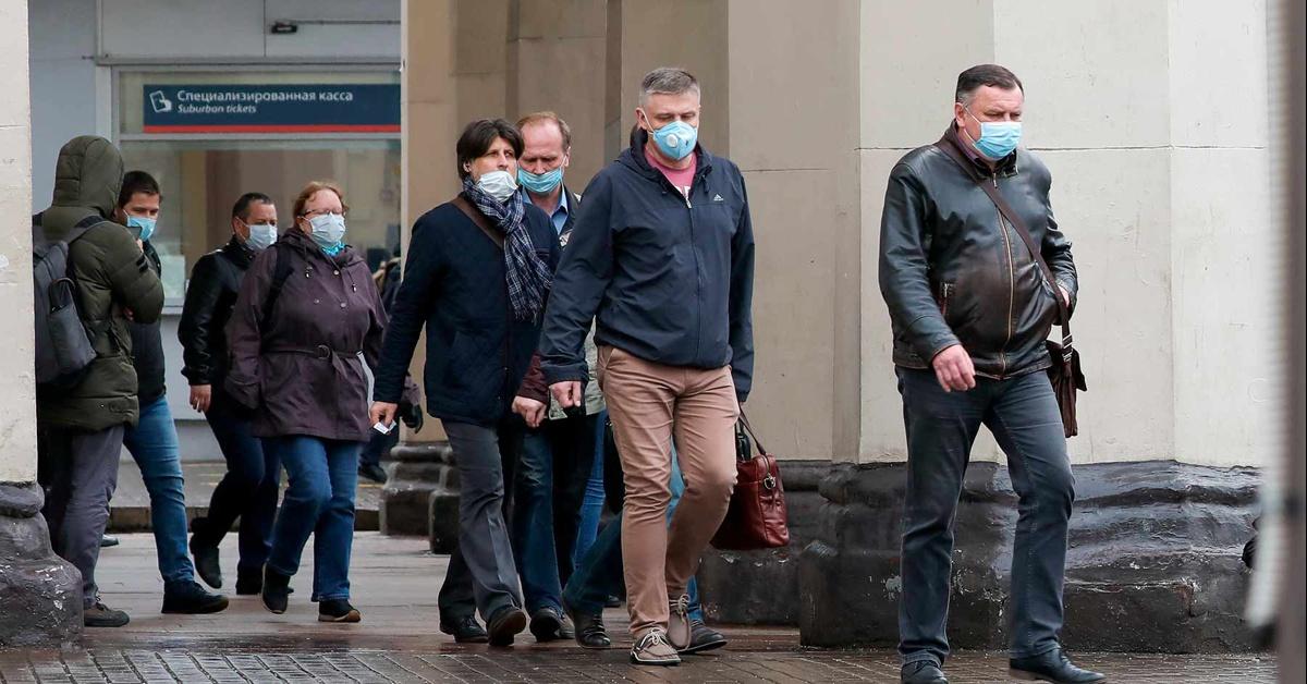 В России за сутки выявили 5159 новых случаев COVID-19
