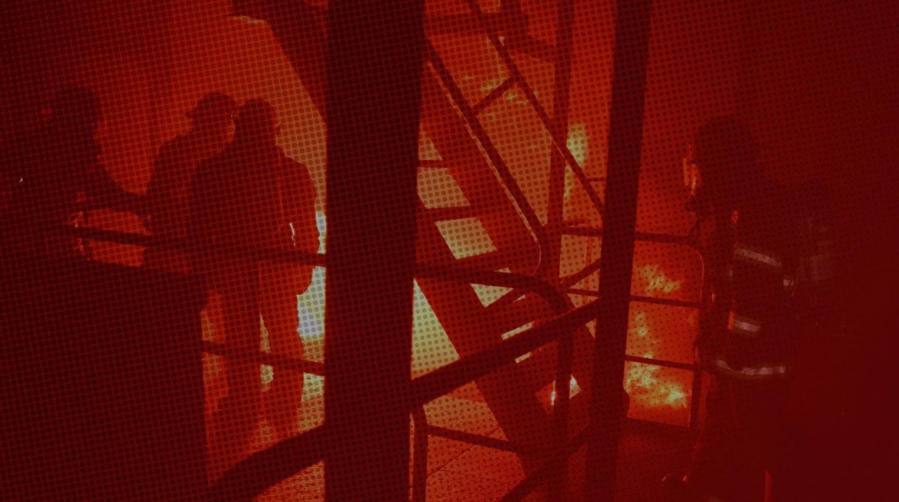 В Москве сильный пожар возле станции метро «Войковская» — видео — Daily Storm